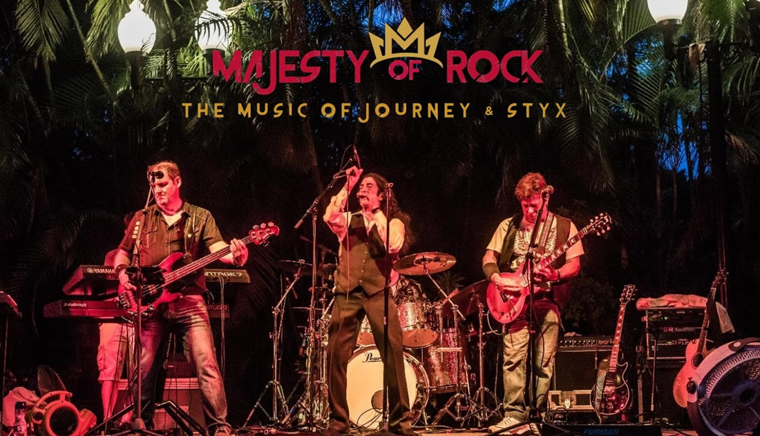 Majesty of Rock Journey and Styx Tribute